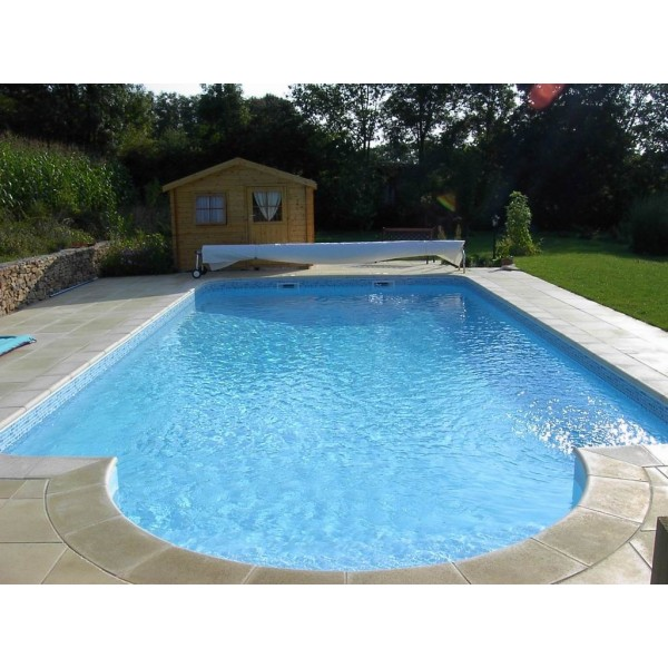 Piscine a enterrer zodiac azteck semi enterrer rectangle for Piscines en kit a enterrer