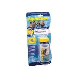 10 bandelettes test pour piscine équipée d'un électrolyseur