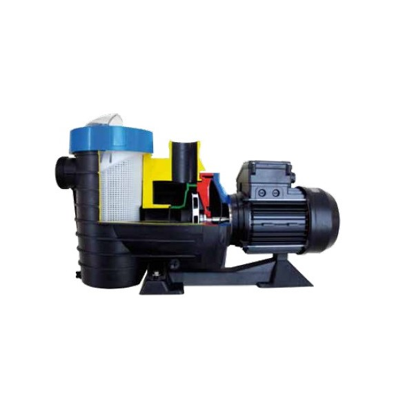 Pompe de filtration astral lfm 3 4 cv tri 11m3 h mad for Pompe piscine astral