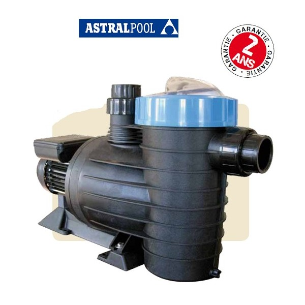 Pompe de filtration astral lfm 1 cv tri 16m3 h mad piscine for Pompe piscine astral