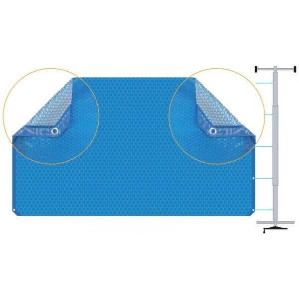 b che t duo bleu noir b ches t mad piscine. Black Bedroom Furniture Sets. Home Design Ideas