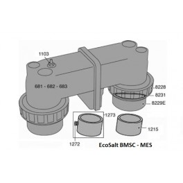 Cellule electrolyseur EcoSalt BMSC 13 et MES 13