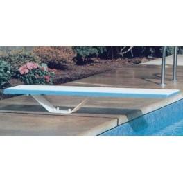 Plongeoir droit 1.93 m + socle + boitier scellement