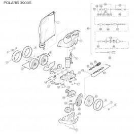 Sport Inox À Pièce Robots Chaine Pour Polaris 3900 lK1JcF