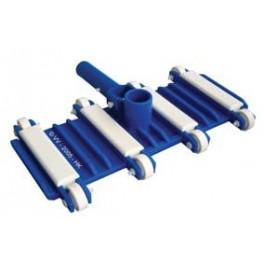 Balai béton flexible 8 roues