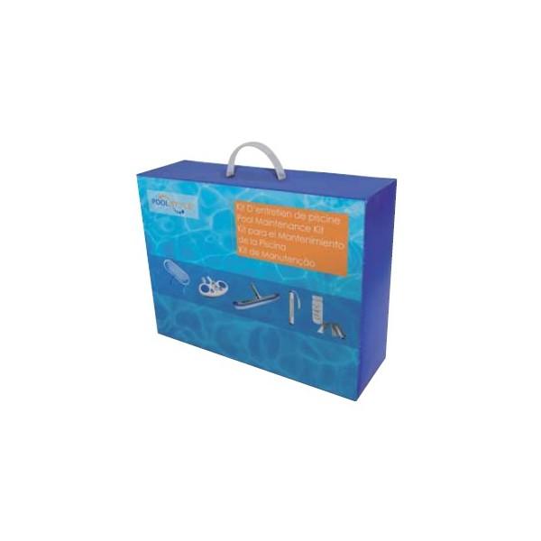 Kit complet de nettoyage luxe pour piscine mad piscine for Nettoyage piscine