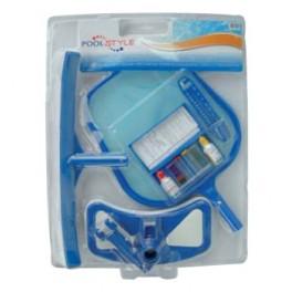 Kit complet de nettoyage luxe pour piscine