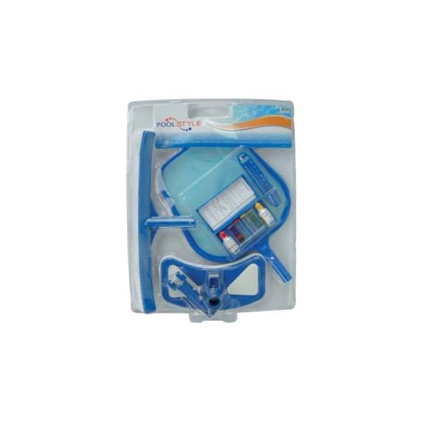 Kit complet de nettoyage pour piscine mad piscine for Accessoire piscine 44