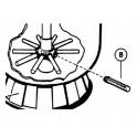 Crépine pour filtre S0164 / S0166T 120 mm  pour Filtre à sable TOP Hayward