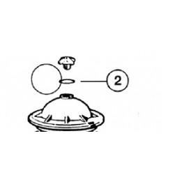 Joint torique de purgeur  pour Filtre à sable SIDE S. S.SE Hayward