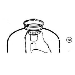 Diffuseur supérieur SO244S  pour Filtre à sable SIDE S. S.SE Hayward