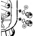 Joint torique de traversée de paroi S0166 à 310SE  pour Filtre à sable SIDE S. S.SE Hayward