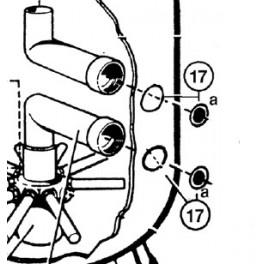 Joint torique d?adaptateur S0166 à 310SE  pour Filtre à sable SIDE S. S.SE Hayward