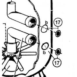 Adaptateur d'étanchéité S0166 à 310SE  pour Filtre à sable SIDE S. S.SE Hayward