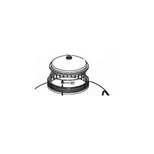 Cr pine tuyau purge d air pour filtres sable propure s21 for Purge filtre a sable piscine