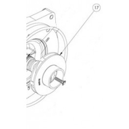 Turbine pour Superflo 3CV  pour Pompe Superflo Pentair