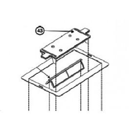 Cache couvercle inférieur  pour AQUAVAC Standard / Qc / Drive Hayward