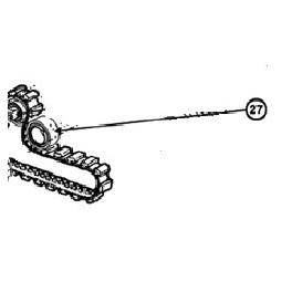 Roulement de chenille extérieur  pour AQUAVAC Standard / Qc / Drive Hayward