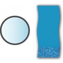 Liner swirl forme ronde piscine hors sol mad piscine for Liner pour piscine hors sol ronde