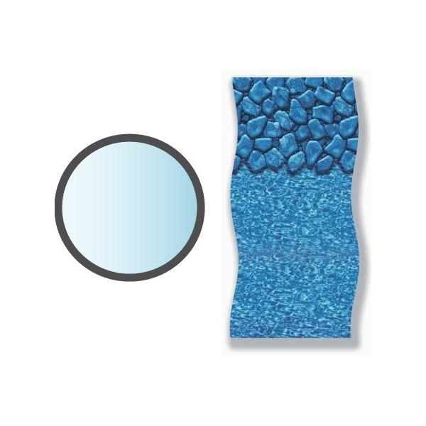 Liner boulder forme ronde piscine hors sol mad piscine for Liner piscine ronde 5 50