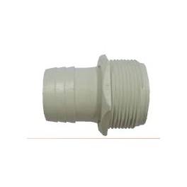 Raccord filet 1 5 38mm tuyau aspirateur sur prise balai for Prise aspirateur piscine