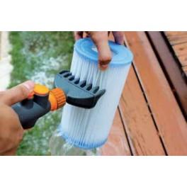 Peigne de nettoyage cartouche pour piscine mad piscine for Nettoyage manuel piscine
