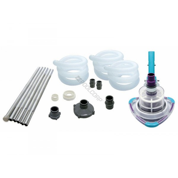Kit balai manuel hors sol v trap for Balai piscine hors sol