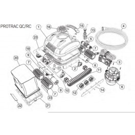 Transformateur pour Protrac QC  Robot Smartpool PROTRAC QC/RC