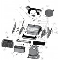 Support brosse Robot Zodiac Black Pearl
