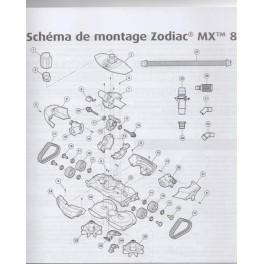 Assemblage axe robot zodiac mx8 ccuart Images