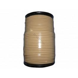 Sandow caoutchouc beige 8mm vendu au mètre