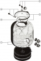 Joint de Couvercle filtre à sable AstralPool APLISTER SIDE