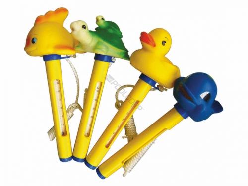 Thermomètre flottant en forme d'animaux pour piscine