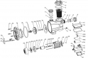 Ecrou de turbine ACIS MCB050