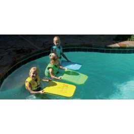 Pack de 6 planches enfant piscine