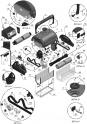 Hélice de moteur de pompe pour robots Aquatron AstralPool Magnum