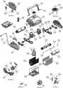 Moteur de pompe pour robots Aquatron - REMPLACE AS00035R-SPP AstralPool Magnum Junior
