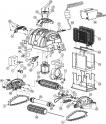 Tendeur de courroie de traction pour robots Aquatron (Astral) AstralPool XTREME 1