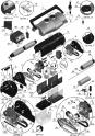 Hélice de moteur de pompe pour robots Aquatron AstralPool ULTRAMAX Modèle 49663