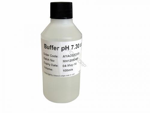 Solution d'étalonnage pH7.3 pour calibrer testeur de pH