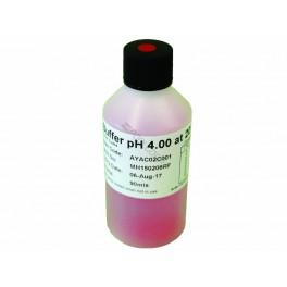 Solution d'étalonnage pH4 pour calibrer testeur de pH