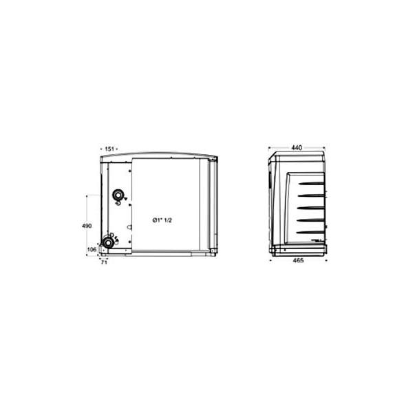 Acheter pompe chaleur powerfirst 6 6 6 kw mono 3 m3 for Acheter pompe a chaleur piscine