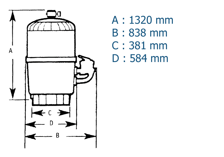 Dimension Progrid 11m3/h